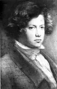 Franz Xaver Winterhalter, Self Portrait, c. 1822