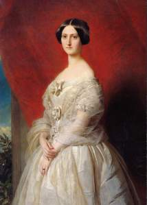 Hermann Winterhalter - Portrait of Betsy Morin 1850