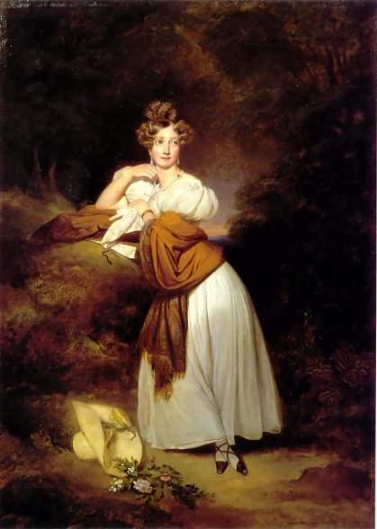 Winterhalter 069 1832 Sophie Wilhelmine of Baden