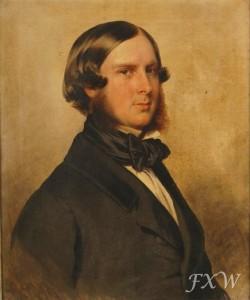 Edward von Saxe-Weimar-Eisenach 1849 Winterhalter Copy