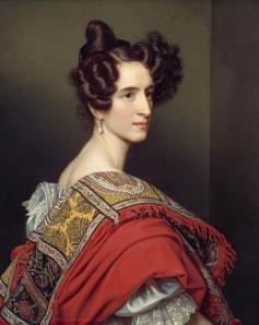 Katharina Sigl-Vespermann 1828 Stieler