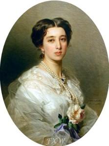 Lina Gurieva Gagarina 1857 Winterhalter